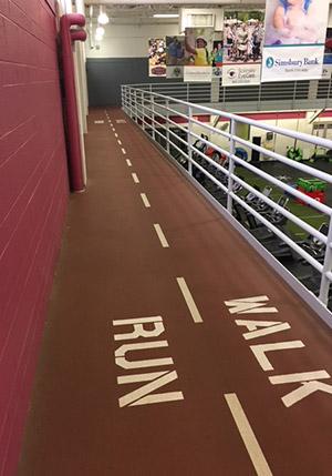 Mandell JCC of Greater Hartford - Indoor Walking/Running Track